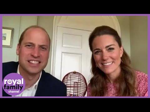 Prince William and Kate Turn Bingo Callers via Virtual Call to Care Home