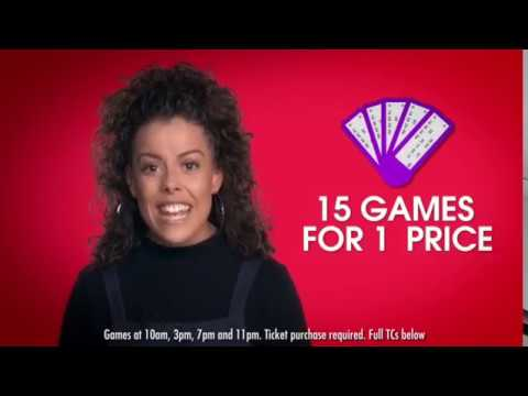 Hannah Wilson - Presenter - Heart Bingo Advert