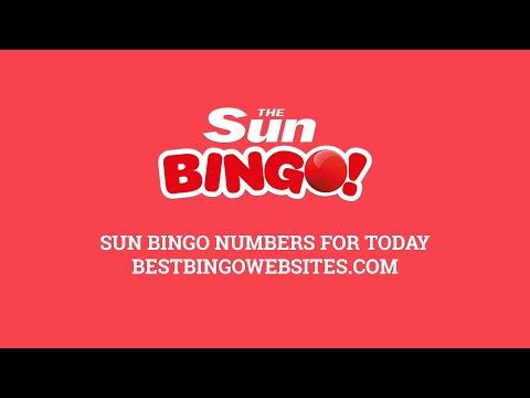 Sun Bingo Numbers