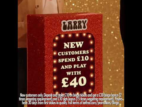 The Betfred Bingo Show Spend £10 & Get £40 to play with
