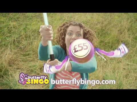 Butterfly Bingo Advertisement