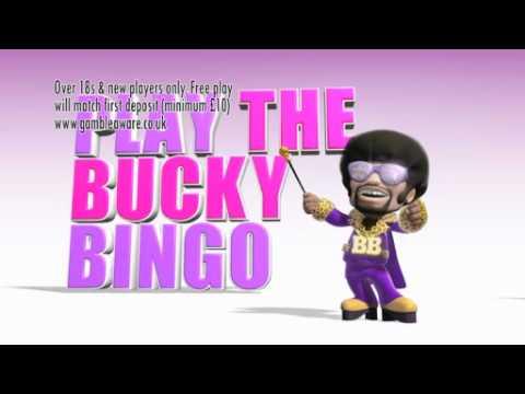 Bucky Bingo TV spot - £200 Free Plays