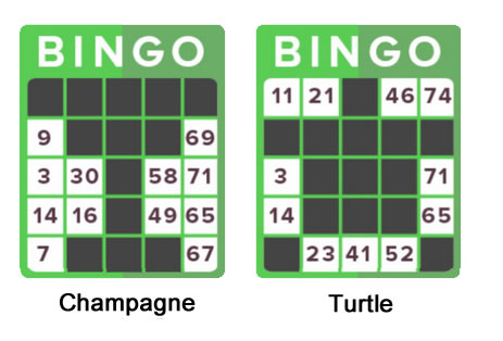 75 Ball Bingo Pattern Image
